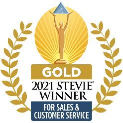Modern Campus wins 2021 Gold Stevie Award for Customer Service.