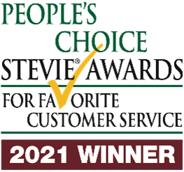 Modern Campus wins 2021 People's Choice Stevie Award for Customer Service.