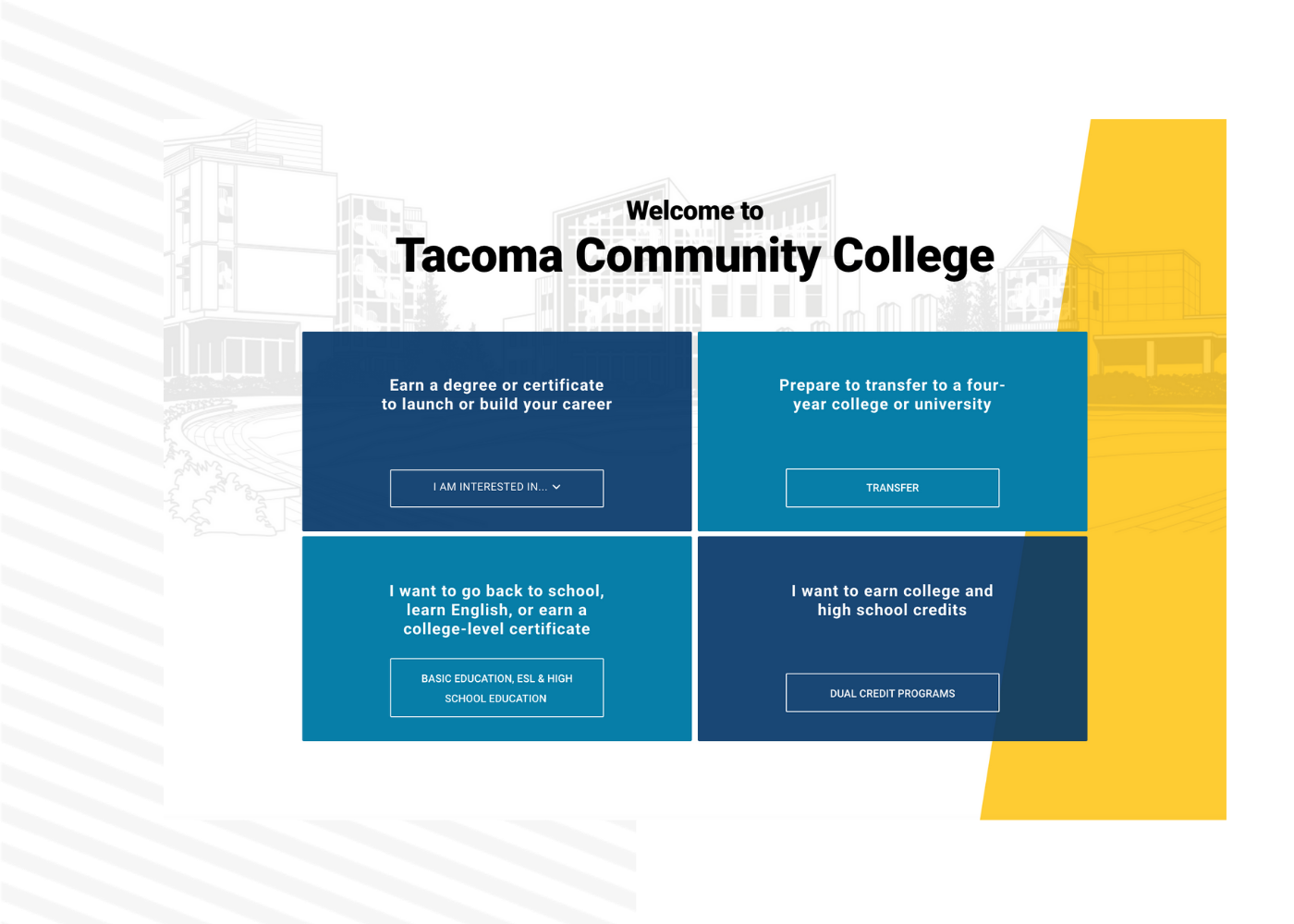 Tacoma Community College is a Modern Campus Customer