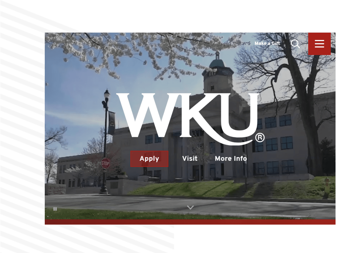 Western Kentucky University is a Modern Campus customer.