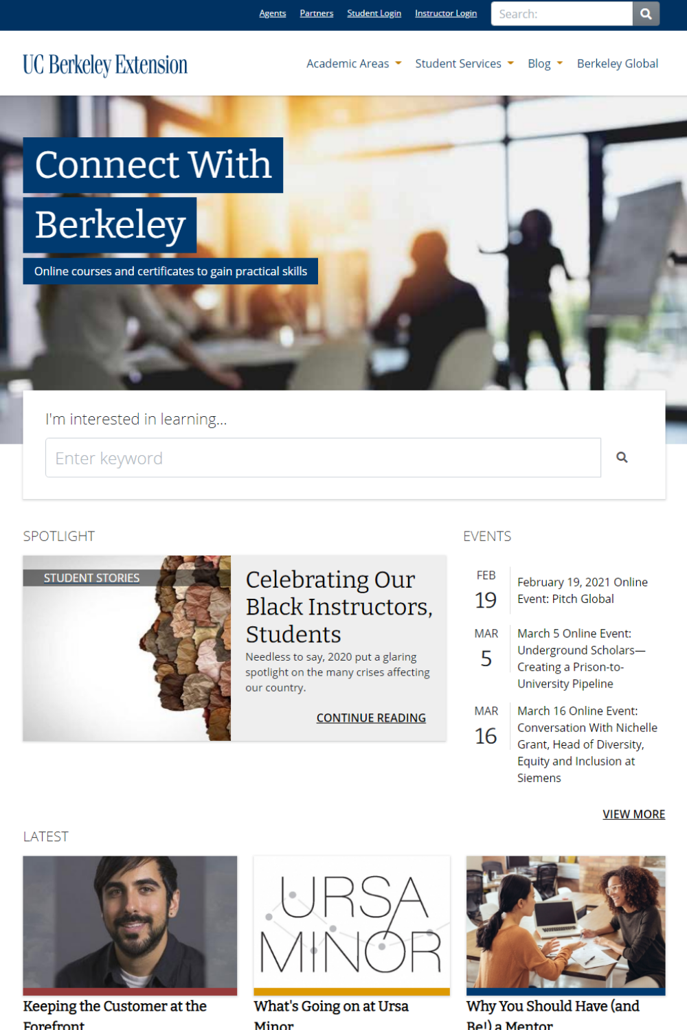 University of California Berkeley Extension is a Modern Campus customer.